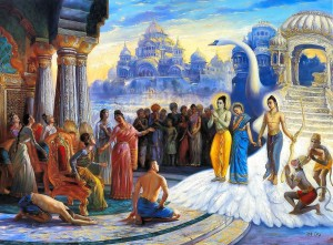 Rasa Lila: Transcendental Love-Rama-returns-to-Ayodhya