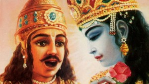 Mohini Ekadashi-Arjuna-and-Krishna-the-King-of-Knowledge