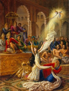 Is The Gita a Book of Violence ?-The-attempted-disrobing-of-Draupadi