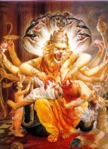 Appearance of Lord Narasimha