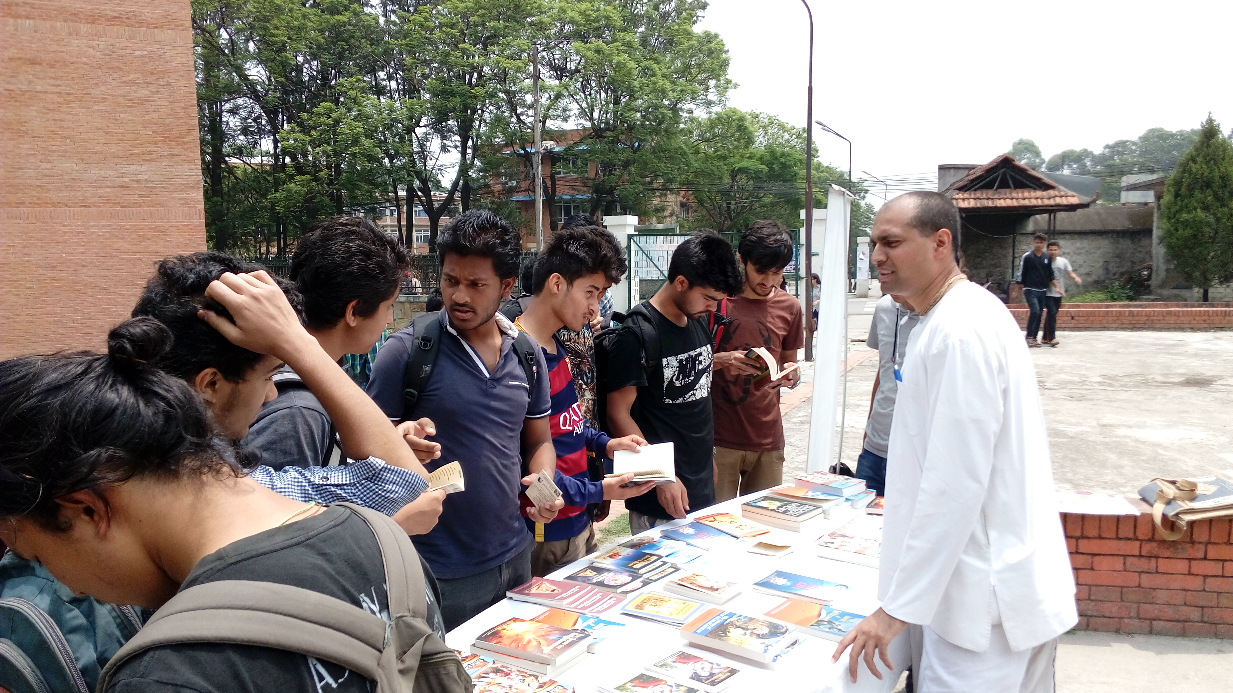 VCM Reaches Out to Nepal Youth