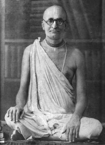 Perfect Bearer of a Transcendental Legacy-Srila_Bhaktisiddhanta_Sarasvati_with_books