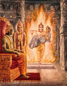 Agnideva Brings the Real Sita