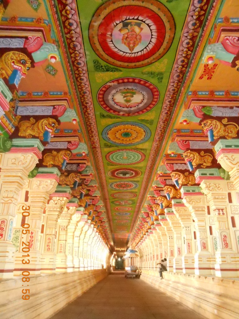 Corridor of Rameshvaram Temple
