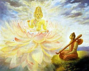 Lord Brahma speaks to Narada Muni