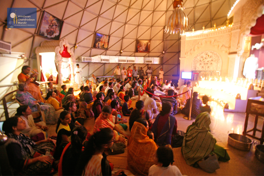 Deepotsava Celebrations at Vrindavan Chandrodaya Mandir