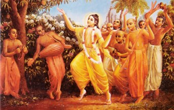 Lord-Caitanya-Dances-with-His-Followers