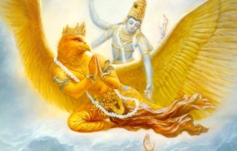 lord vishnu saving devotee