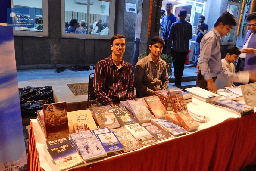 Srila Prabhupada book distribution