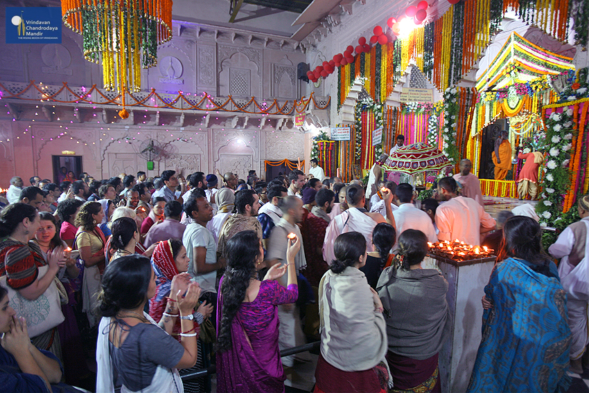 Srila Prabhupada Disappearance Day Celebrations at Radha Damodar