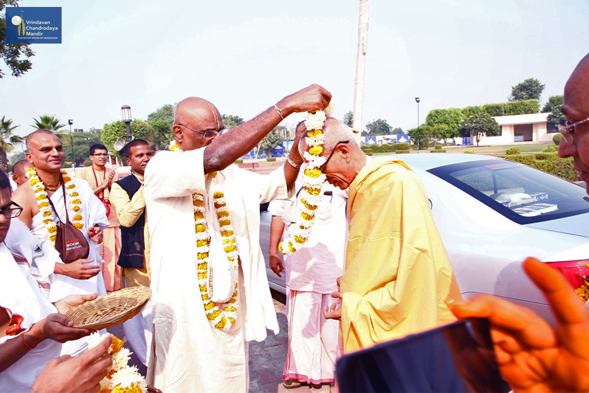 His Grace Stoka Krishna Prabhu accepted the renounced order of Sannyasa