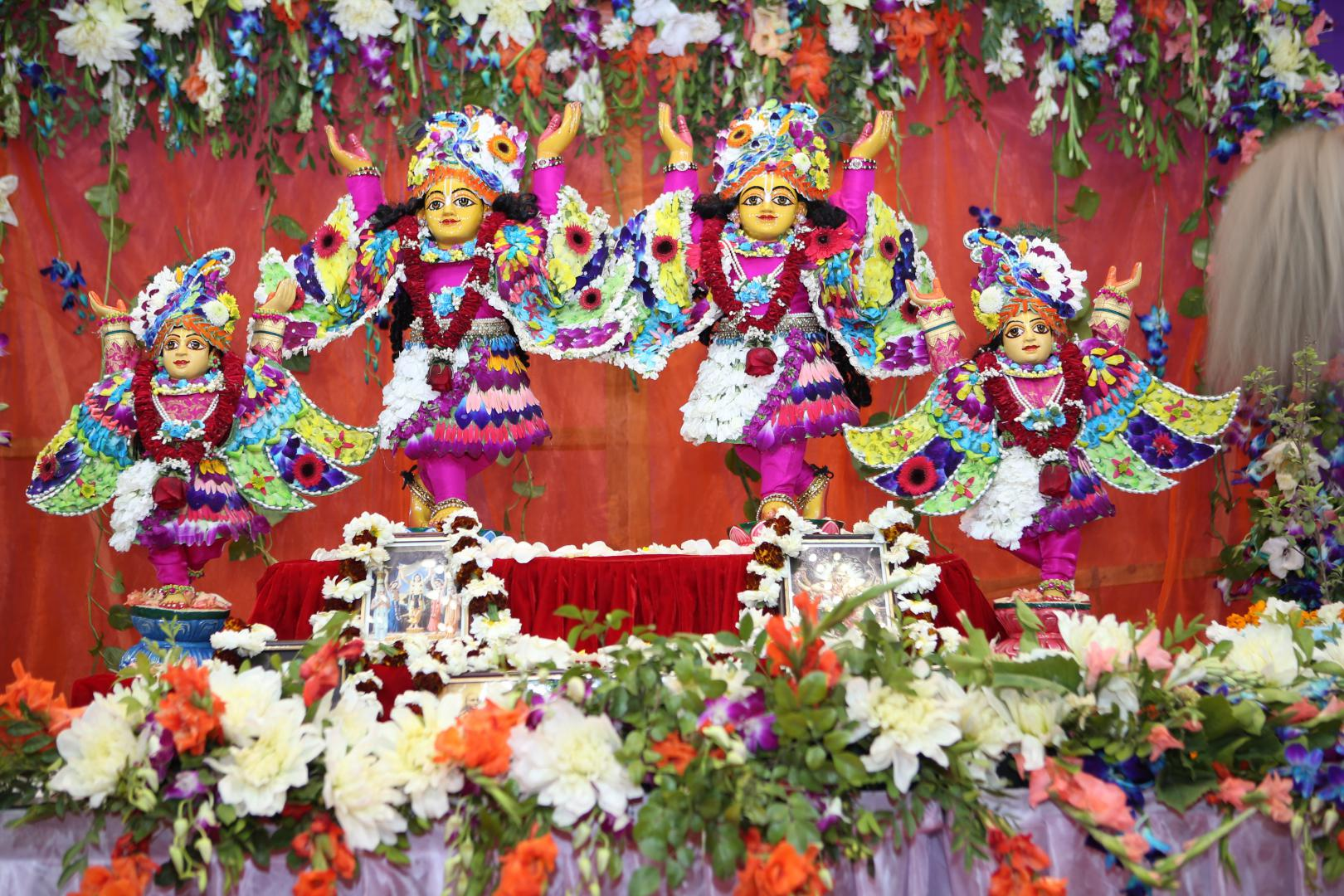 Their Lordships Sri Sri Gaura Nitai