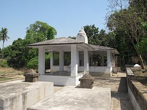 Bhaktivinoda Thakur's memorial at his birthplace in Birnagar, West Bengal