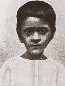 KedarnathDatta's seventh child Bimala Prasad, age 7 (1881)