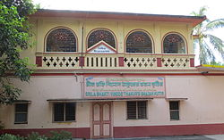 Bhaktivinoda Thakur's house at Surabhi-kunj (Mayapur) that served as the headquarters of his nama-hatta preaching.